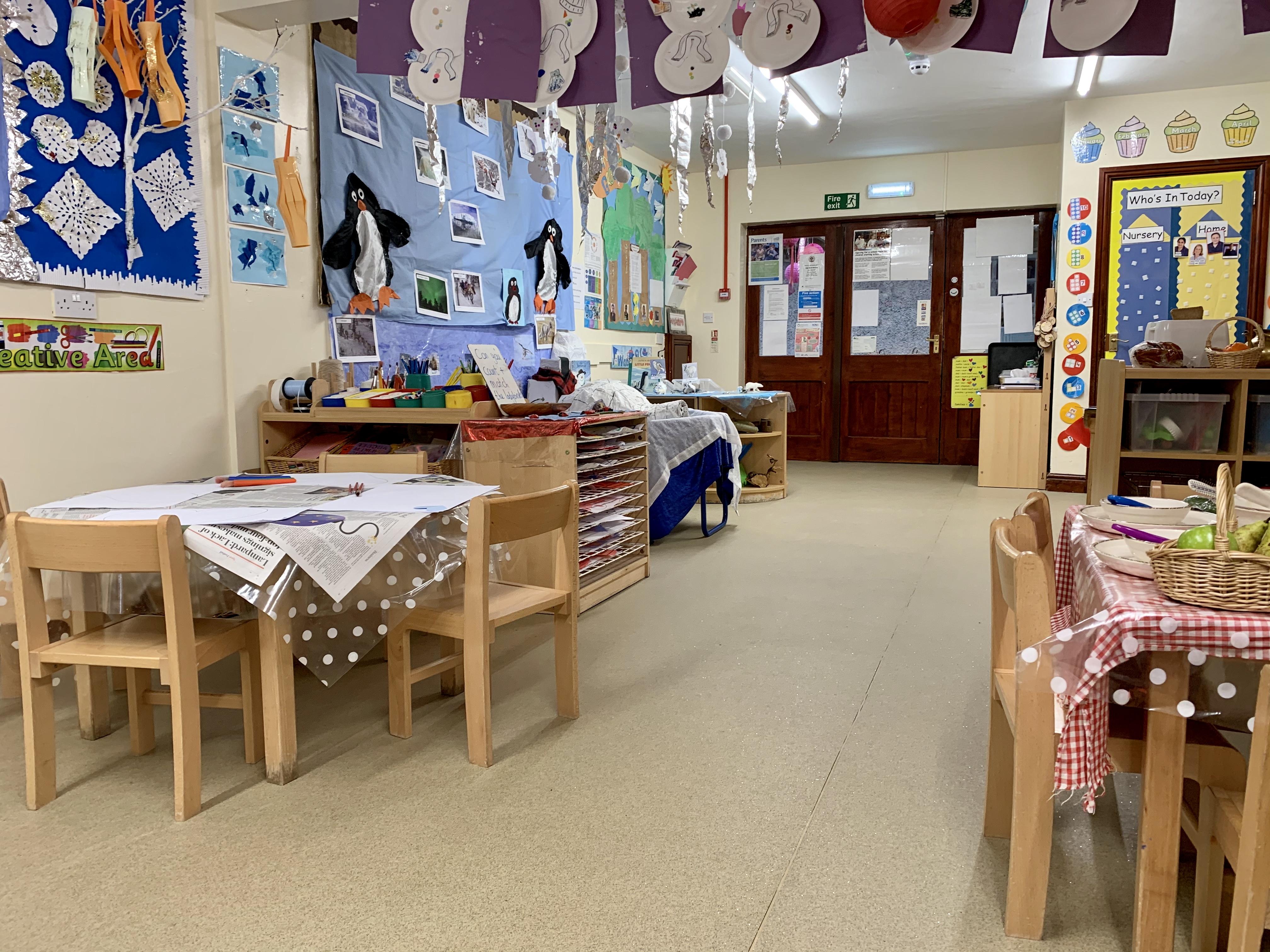 Pre-school room at High Bank